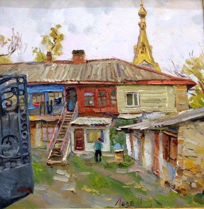 Во Всемирном клубе одесситов открылась выставка Натальи Лозы «Одесский этюд» (фото)