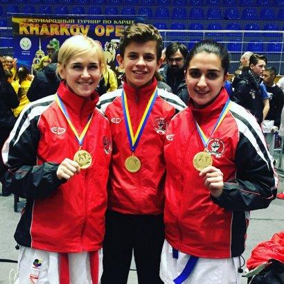 Спортсмены из Черноморска стали победителями Международного турнира по каратэ