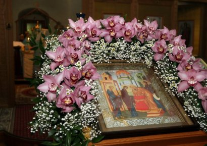 Сегодня Церковь празднует Сретение Господне