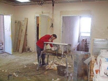 В Одессе проводят ремонт детской поликлиники