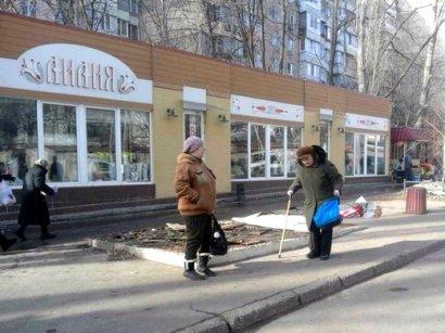 В Одессе демонтированы 11 временных сооружений