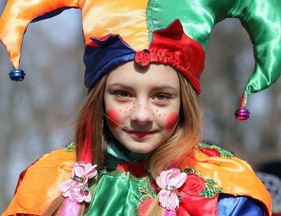 В Городском саду состоялся фестиваль «Масленица»