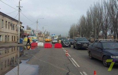 Сегодня поселок Котовского оказался практически отрезан от города
