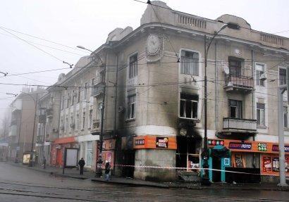 На Старопортофранковской подожгли зал с игровыми автоматами (фото)