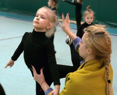 Школа Олимпийского резерва по художественной гимнастике обрела новую тренировочную базу