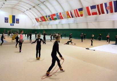 Школа Олимпийского резерва по художественной гимнастике в спорткомплексе МГУ