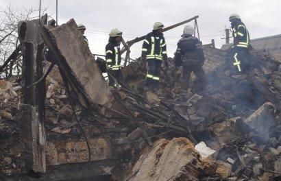 В пгт Любашевка Одесской области в результате обрушения здания погиб мальчик