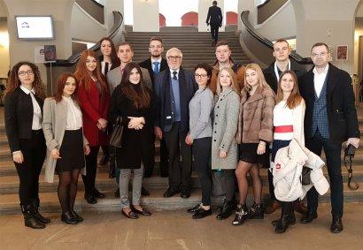 Учебный визит украинских и молдавских студентов в Швейцарию