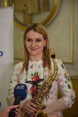 Любовь, саксофон и весна!