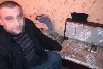 У одессита нашли оружие и марихуану (фото)