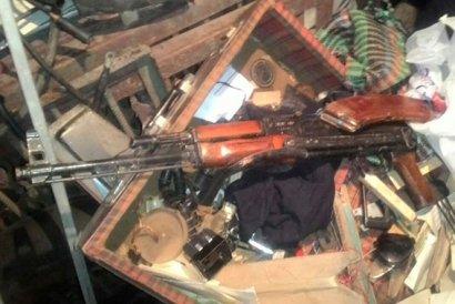 Житель Одесской области готовился к большой войне (фото)