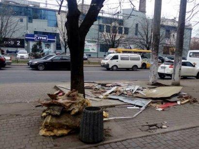 За минувшую неделю в Одессе демонтированы 10 будок