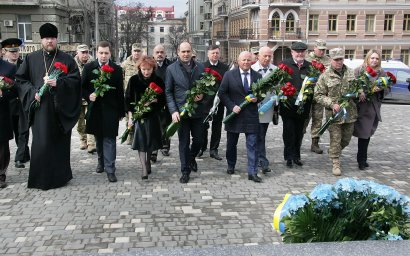 В Одессе отмечают 100-летие Украинской революции 1917-1921 годов