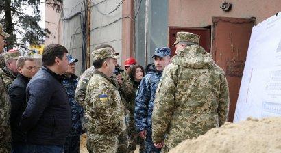 Полторак в Одессе: Стадион СКА возвращен в собственность Министерства обороны (фото)