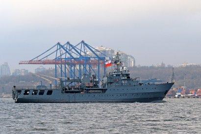 В Одессу прибыли корабли НАТО (фото)