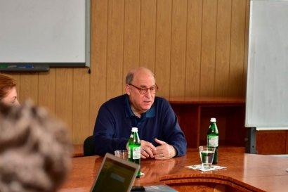Визит одного из наиболее рейтинговых юристов в отрасли международного торгового права - Гэри Хорлика в Одессу