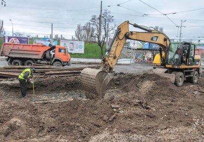 Полным ходом идут работы на новом участке Преображенской