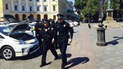 Опасную бандгруппу задержали сегодня в Одессе патрульные полицейские