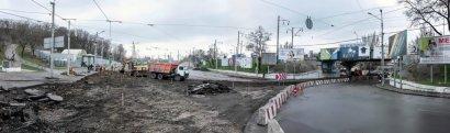 Без транспортных заторов в районе Пересыпи не обошлось