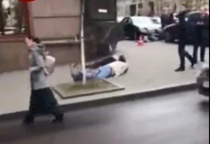 В центре Киева стрельба. Среди убитых - бывший депутат Госдумы России (фото, видео)