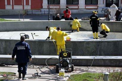 К началу мая в Одессе запустят основные фонтаны города
