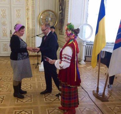 Многодетные матери Одесской области получили президентскую награду