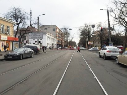 Проезд по Тираспольской площади будет полностью восстановлен уже к 1 апреля