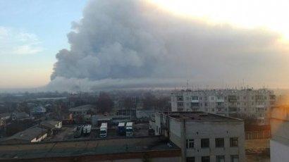 Харьковские власти рассказали о разрушениях из-за пожара на складах под Балаклеей