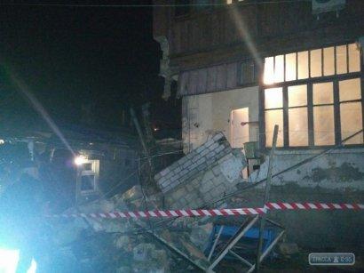 Обрушение жилого дома произошло накануне вечером на Пересыпи