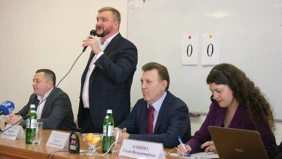 Официальный визит Министра юстиции Украины Павла Петренко в Национальный университет «Одесская юридическая академия»