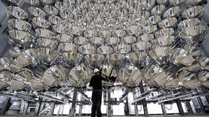В Германии собрали самое большое в мире «искусственное солнце»