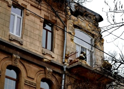 Частично обрушившееся здание на улице Екатерининской, 8 будет отремонтировано уже в ближайшее время
