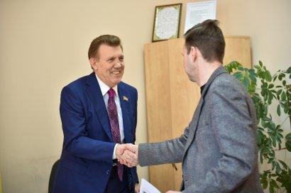 Одесситы обращаются за помощью в приёмную народного депутата