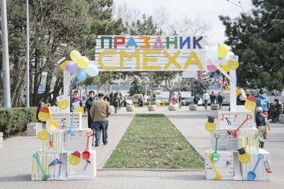 В Одессе прошел фестиваль «Праздник Смеха. Профессии шутят»