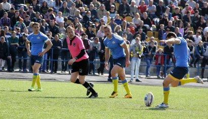В Одессе состоялся заключительный матч чемпионата Европы по регби 2017 года