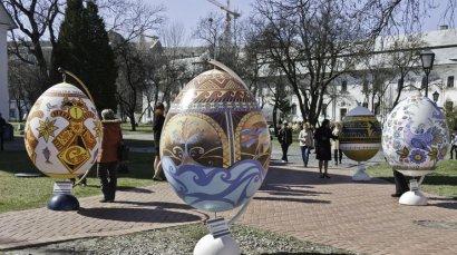В Одессе выставят писанки высотой 60 см