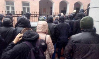 «Национальный корпус» протестовал против русского «Тотального диктанта»