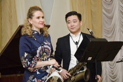 В Воронцовском дворце звучал саксофон