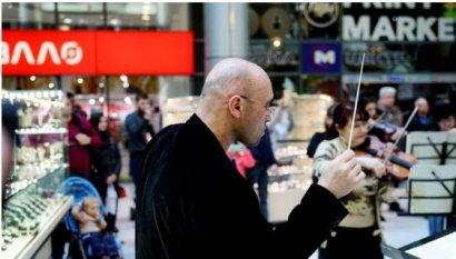 Музыканты – любимому городу в честь Дня освобождения Одессы