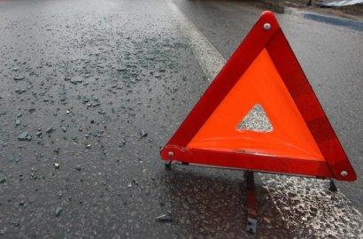 ДТП с участием сразу двух тяжелых грузовиков произошло сегодня в Одесской области