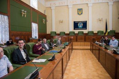 Профессор Томас Спиди Райс в гостях у юристов Одессы