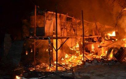 Причиной масштабных пожаров на Даче Ковалевского был поджог