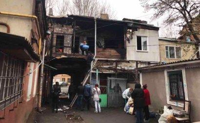 Причиной ночного пожара на Богдана хмельницкого мог быть поджог