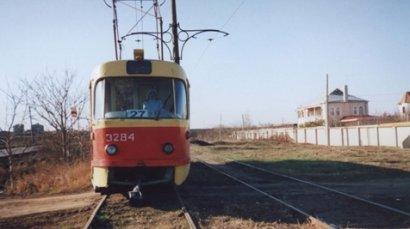 В Одессе одним трамвайным маршрутом стало меньше