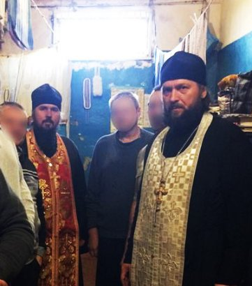 Православные священники посетили Одесский следственный изолятор
