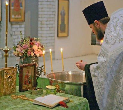 В храме преподобного Сергия Радонежского при Общеобразовательной церковно-приходской школе состоялось историческое событие