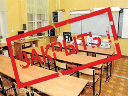 Областные власти требуют прекратить занятия в школах по всей территории области
