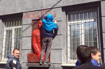 Очередную хулиганскую акцию провели в Одессе так называемые «активисты»