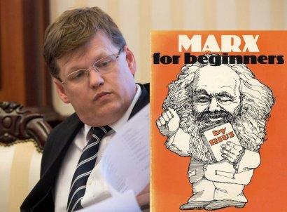Karl Marx за Розенко (видео)