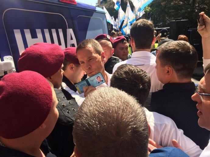 Саакашвили обидел честь и преимущество Минюста, ведомство подало иск всуд